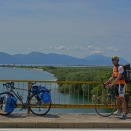 I met a touring cyclist from Serbia, Nemanja, whom I had beer with in Mostar