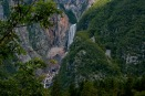Biggest waterfall in Slovenia