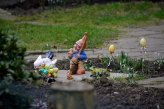 They sure love easter decorations in eastern Germany